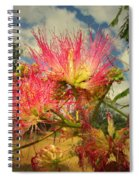 Mimosa Blossoms Spiral Notebook
