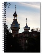 Minaret And Turret Spiral Notebook