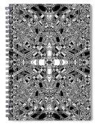 B W Sq 5 Spiral Notebook