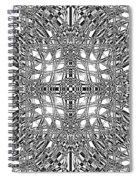 B W Sq 9 Spiral Notebook