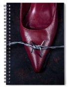 Mind Your Steps Spiral Notebook