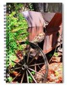 Mine Cart Lost In Time V2 Spiral Notebook