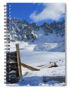 Mine Relics In The Snow Spiral Notebook