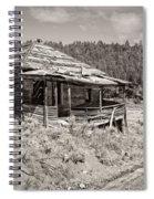Miner's Shack - Comet Ghost Mine - Montana Spiral Notebook