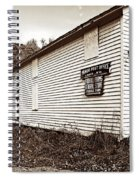 Mingo Post Office And Foxhill Farms General Store Spiral Notebook