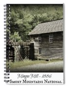Mingus Mill - Color Poster Spiral Notebook