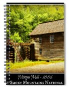 Mingus Mill -- Poster Spiral Notebook