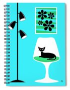 Mini Groovy Flowers 2 Spiral Notebook