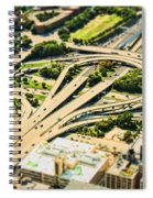 Mini Motorway Spiral Notebook