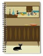 Mini Still Life Spiral Notebook