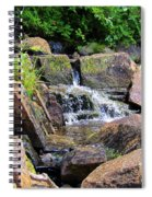 Mini Water Fall Spiral Notebook