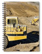 Miniature Construction Site Spiral Notebook