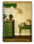 Miniature Hat Room Spiral Notebook