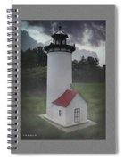 Miniature Lighthouse Spiral Notebook