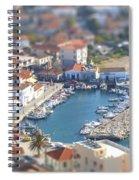 Miniature Port Spiral Notebook