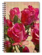 Miniature Roses Spiral Notebook