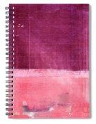 Minima - S02b Pink Spiral Notebook