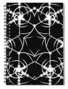 Minimal Life Vortex Spiral Notebook