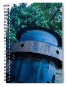 Mining Boiler Spiral Notebook
