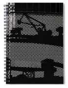 Mining Spiral Notebook