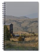 Mining In Butte Spiral Notebook