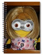 Minion In Disguise Spiral Notebook