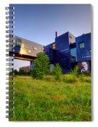 Minneapolis Guthrie Theater Summer Evening Spiral Notebook