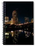 Minneapolis Night Skyline Spiral Notebook