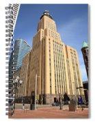 Minneapolis Skyscrapers Spiral Notebook