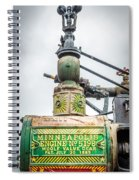 Minneapolis Steam Engine Spiral Notebook