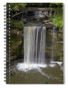 Minneopa Falls 37 Spiral Notebook
