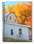 Minnesota Barn Spiral Notebook