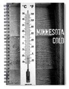 Minnesota Cold Spiral Notebook
