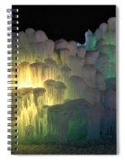 Minnesota Ice Castle 2013 Spiral Notebook