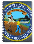 Minnesota State Seal Spiral Notebook