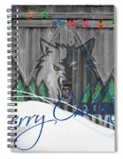 Minnesota Timberwolves Spiral Notebook