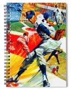 Minnesota Twins 1968 Yearbook Artwork Spiral Notebook