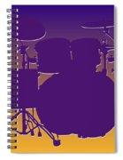 Minnesota Vikings Drum Set Spiral Notebook