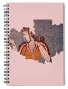 Minoan Wall Painting Spiral Notebook
