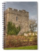 Minster Abbey Gatehouse Spiral Notebook