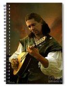Minstrel Angelic Spiral Notebook
