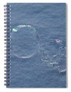 Minus Fifty Degrees Spiral Notebook