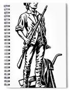 Minutemen Spiral Notebook