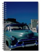 Miracle Mile Oldsmobile Spiral Notebook