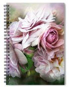 Miracle Of A Rose - Mauve Spiral Notebook