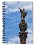 Mirador De Colom In Barcelona Spiral Notebook