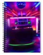 Mirror Ball Spiral Notebook