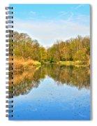Mirror Canal Spiral Notebook