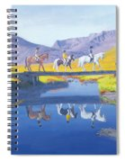 Mirror In The Cairngorms Spiral Notebook
