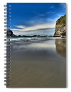 Mirror In The Sand Spiral Notebook